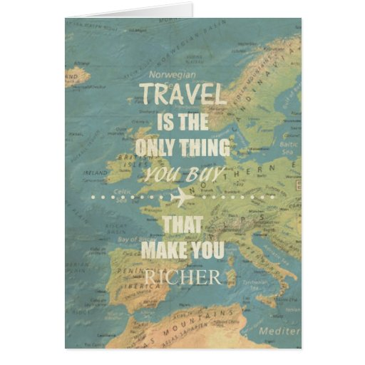 Postcard Quotes Travel: An Inspiring Travel Quotes Card