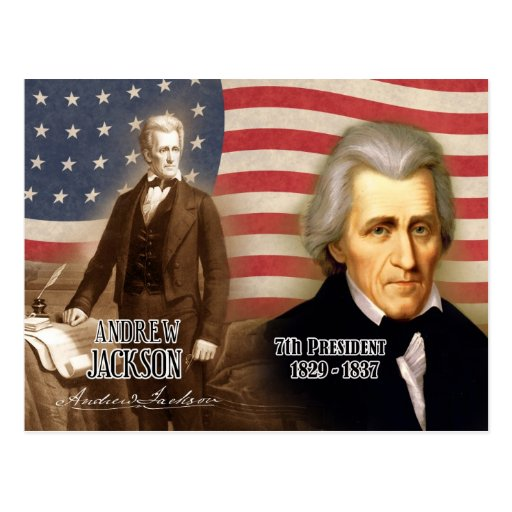 Andrew Jackson, Period 4 Timeline