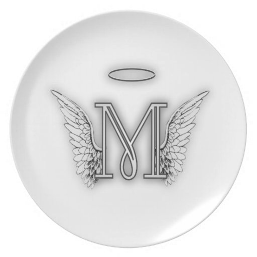 Angel Wings And Halo Plates | Angel Wings And Halo Plate ...