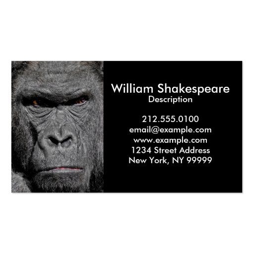 business card angry - photo #11