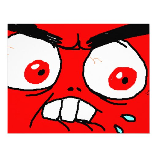 angry rage face - photo #33