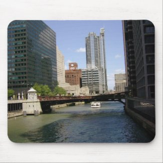 Another One For Downtown Chicago Mousepad mousepad