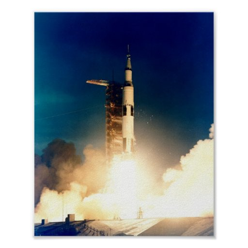 Apollo 14 Launch Poster | Zazzle