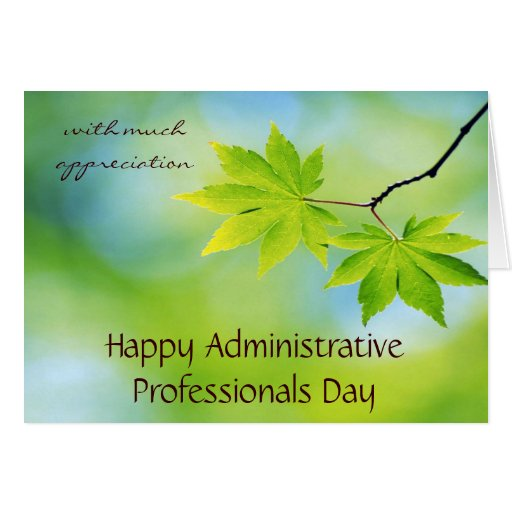 Appreciation for Administrative Professionals Day Card ...