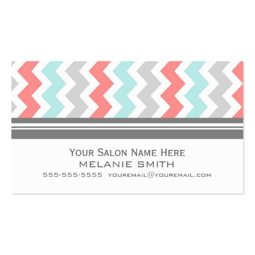 Sophisticated Salon Business Card Templates Page2 Bizcardstudio