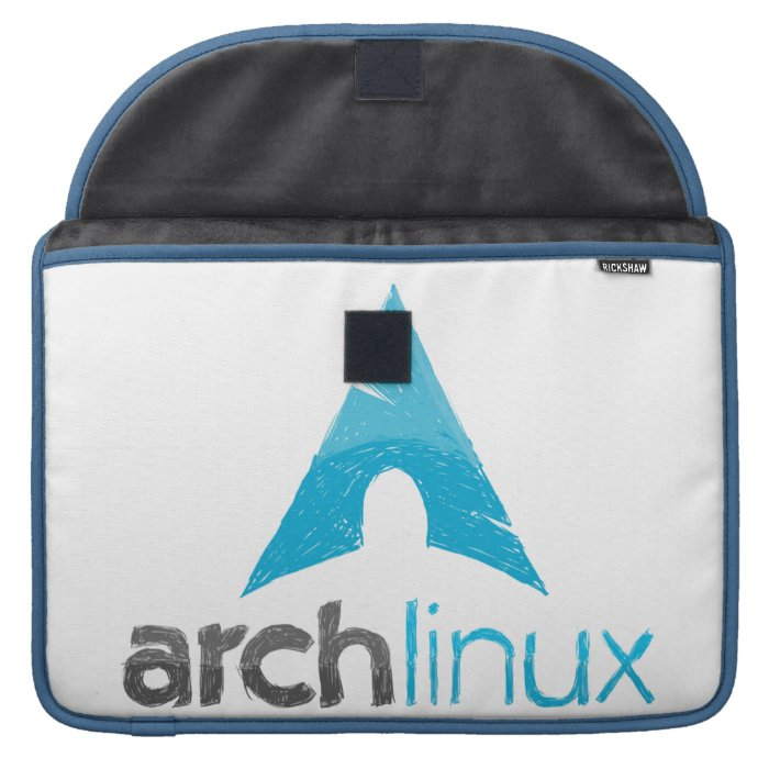 Arch Linux Logo MacBook Pro Sleeve on PopScreen