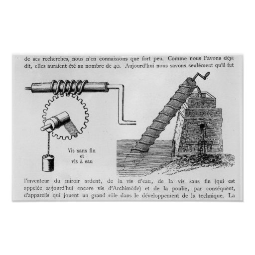 Archimedes Screw Generators