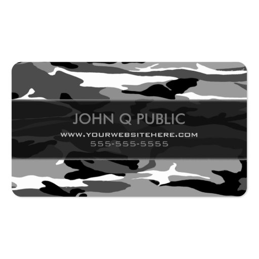 Arctic camo pattern business card templates 240030879595559565 on t 349859