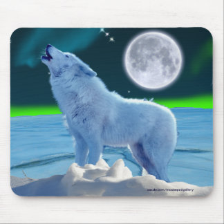 Howling White Wolf Gifts - T-Shirts, Art, Posters & Other ...