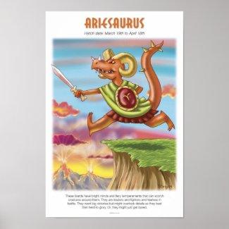 Ariesaurus Poster