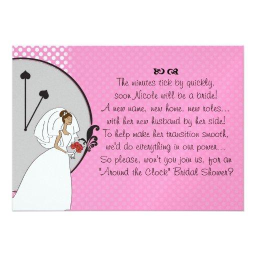 Wedding Invitation Wording Ideas With Poems: Bridal Shower Invitations: Wedding Shower Invitation