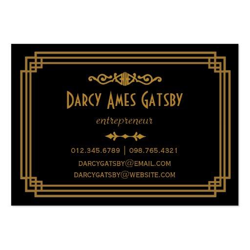 Art Deco Business Cards Zazzle