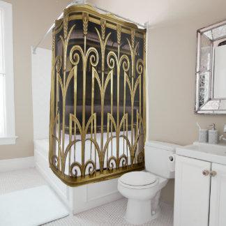 Art Deco Shower Curtains Zazzle
