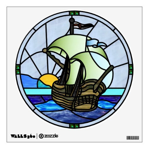 Art Deco Ship: Art Deco Ship Window And Wall Decals