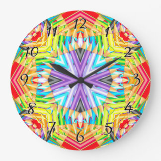Colored Pencil Wall Clocks Zazzle