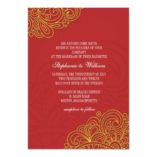 Asian Wedding Invitation 88
