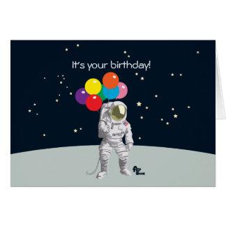 Space Birthday Greeting Cards   Zazzle