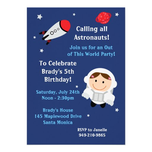 astronaut invitations - photo #16