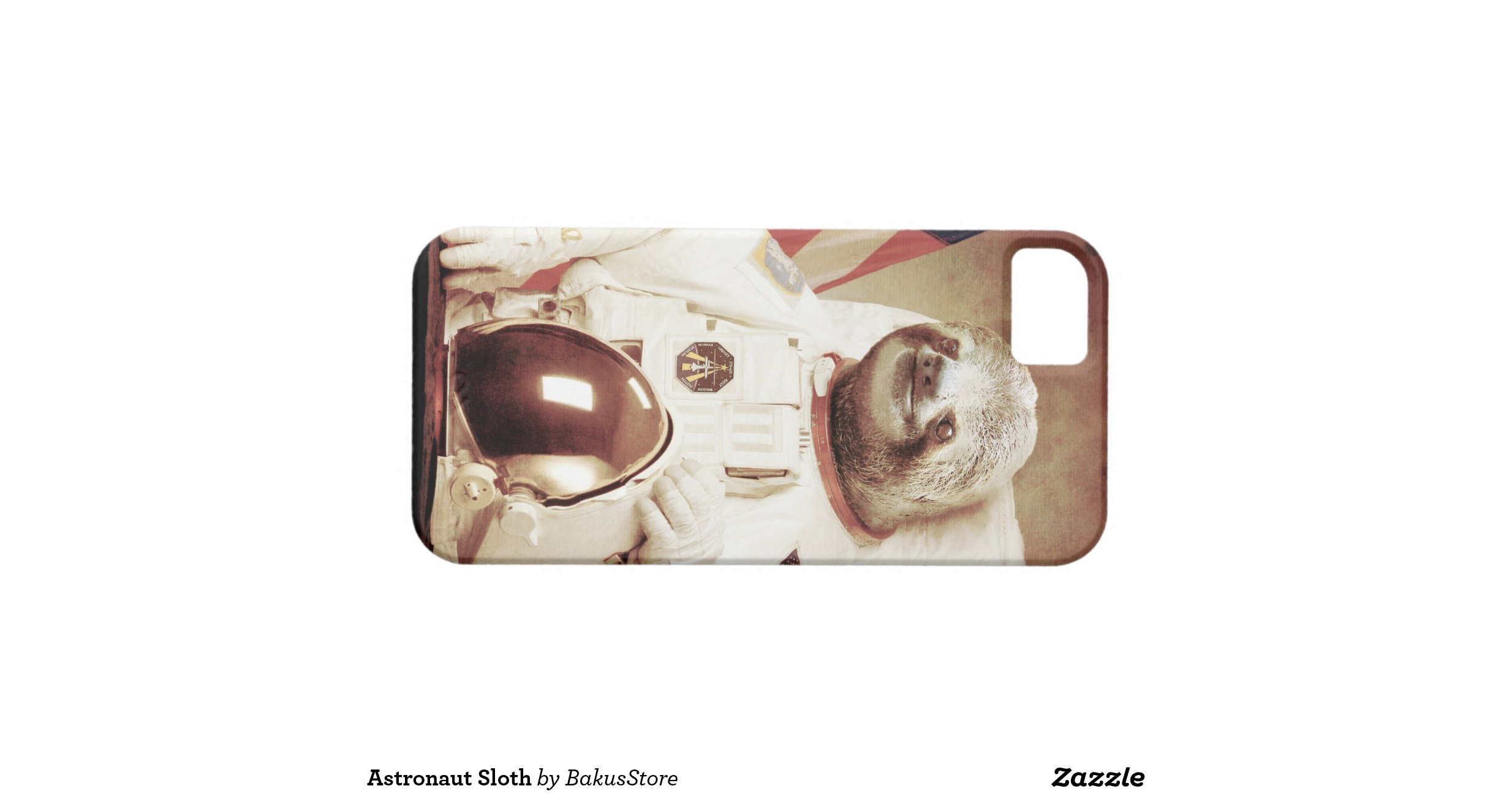 astronaut_sloth_iphone_5_cover ...