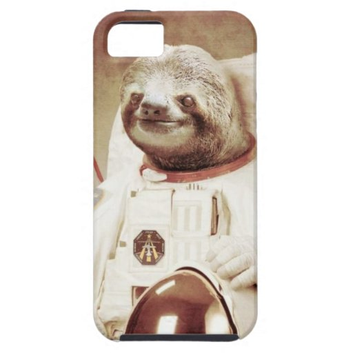 Astronaut Sloth iPhone 5 Covers | Zazzle