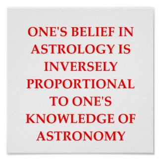 astronomy astrology joke posters
