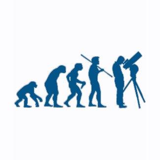 Astronomy Evolution shirt