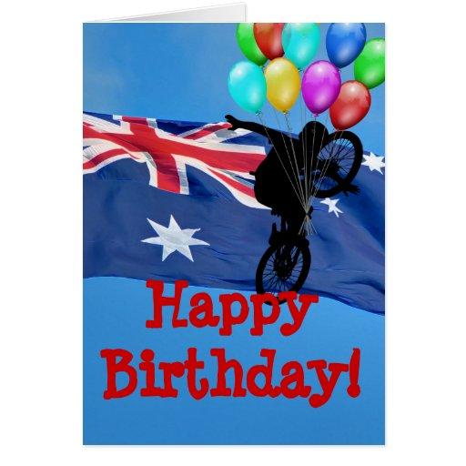 AUSTRALIA HAPPY BIRTHDAY! GREETING CARD