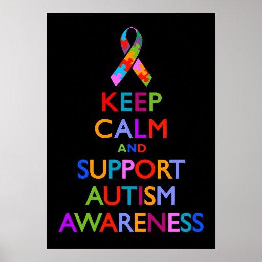 Autism Awareness Poster   Zazzle