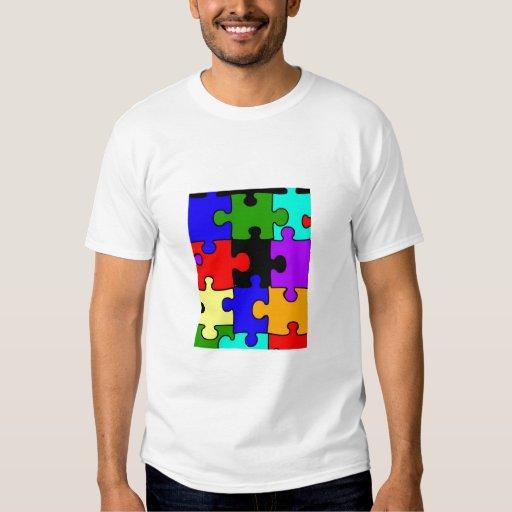 autism jigsaw puzzle piece adult t-shirt | Zazzle