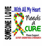 Autism Needs A Cure t-shirt