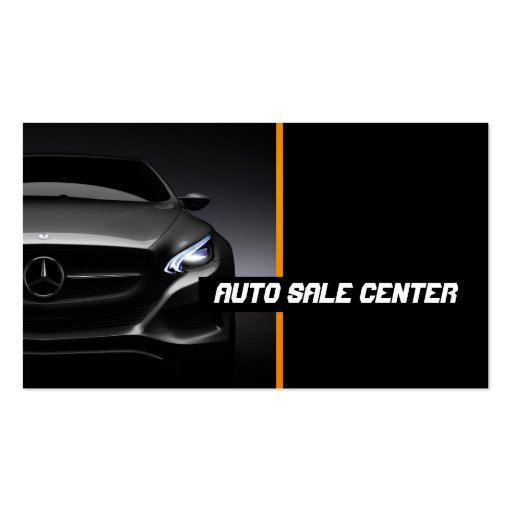 Car Sales, Auto Sales Business Card   Zazzle  Car Sales Business Cards