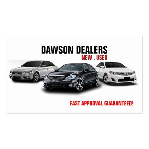 Bold, Masculine, Car Dealer Business Card Design for ...  Car Sales Business Cards