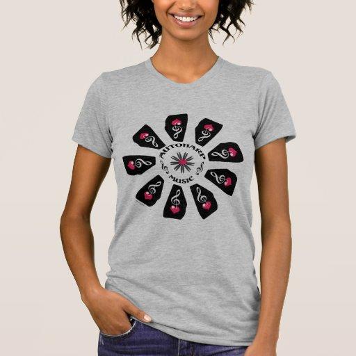 Autoharp Music Flower T-Shirt