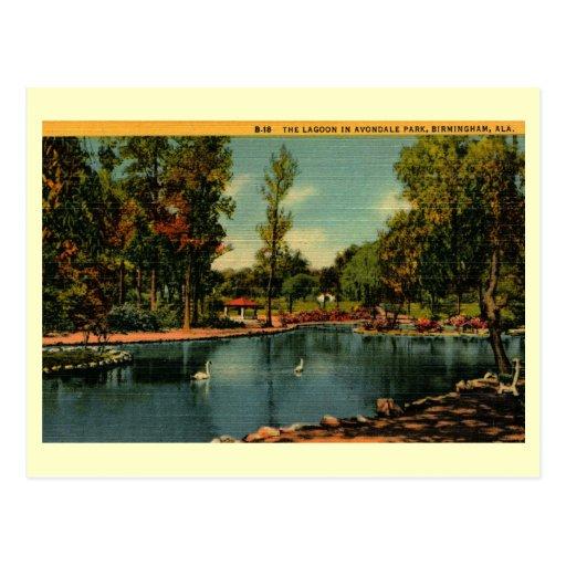Avondale Birmingham Al: Avondale Park, Birmingham, Alabama Vintage Postcard