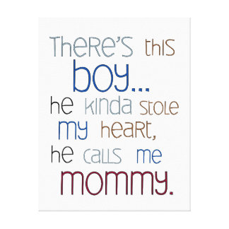 Baby Quotes Wrapped Canvas Prints   Zazzle - photo#25
