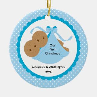 Twin Boys Ornaments & Keepsake Ornaments | Zazzle
