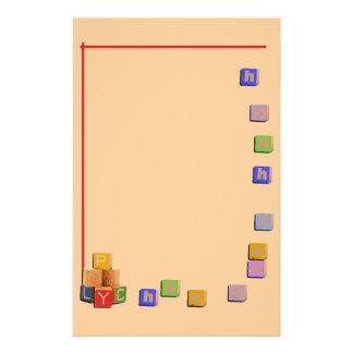 Cubes Stationery Zazzle