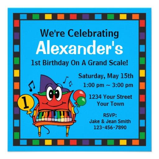 Personalized Balloon Invitations
