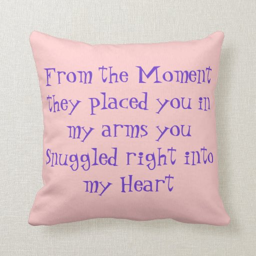 Quotes For Baby Pillows Quotesgram