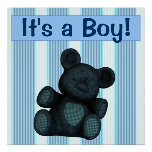 Baby Shower Banner/poster Customizable It's A Boy