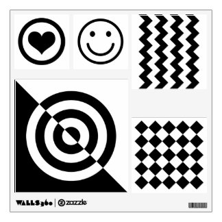 Black And White Geometric Patterns For Infants
