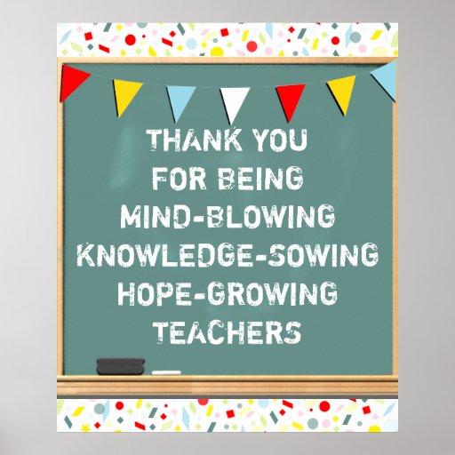 Back-to-school Teachers Poster