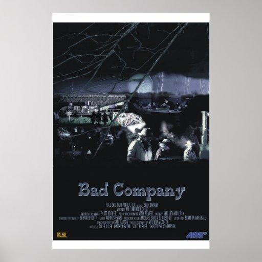 bad company poster zazzle. Black Bedroom Furniture Sets. Home Design Ideas