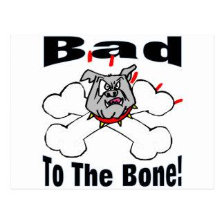 Bad To The Bone Postcards | Zazzle