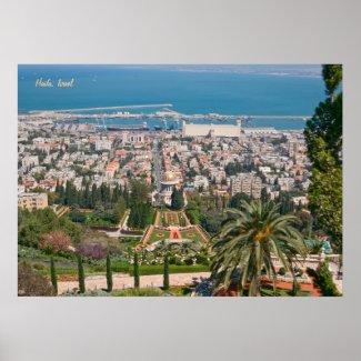 Bahá'í Gardens of Haifa Posters