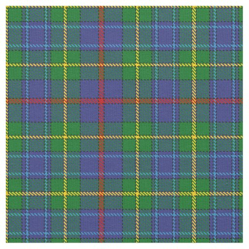 Bailey Scottish Clan Tartan Fabric Zazzle