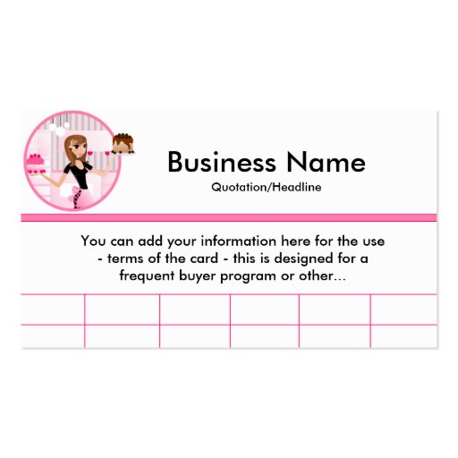Frequent Buyer Card Template Frequent Buyer Card