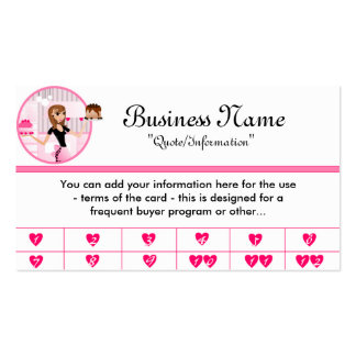 Chef business cards templates zazzle for Frequent diner card template