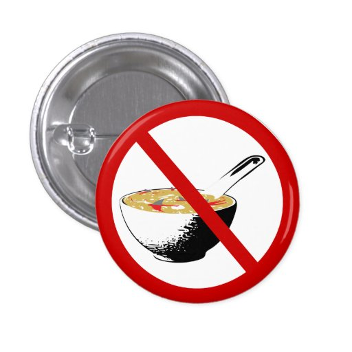 ban shark fin soup button | Zazzle