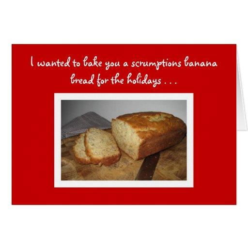 banana bread recipe card - photo #11